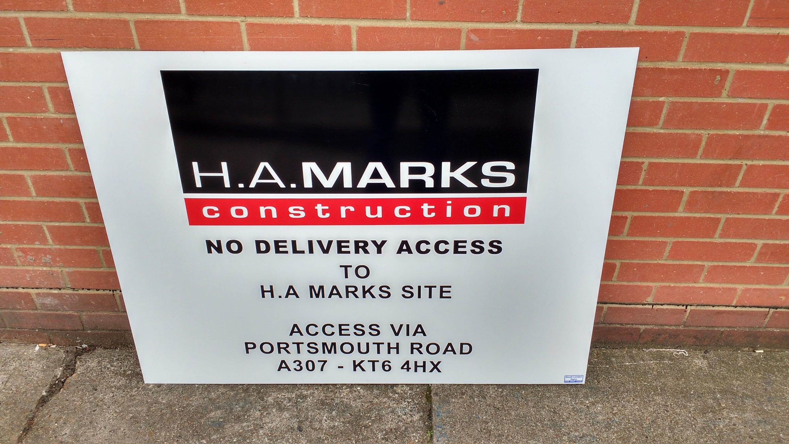 Builders Sign Boards